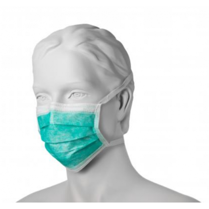 Maska chirurgiczna z włókniny