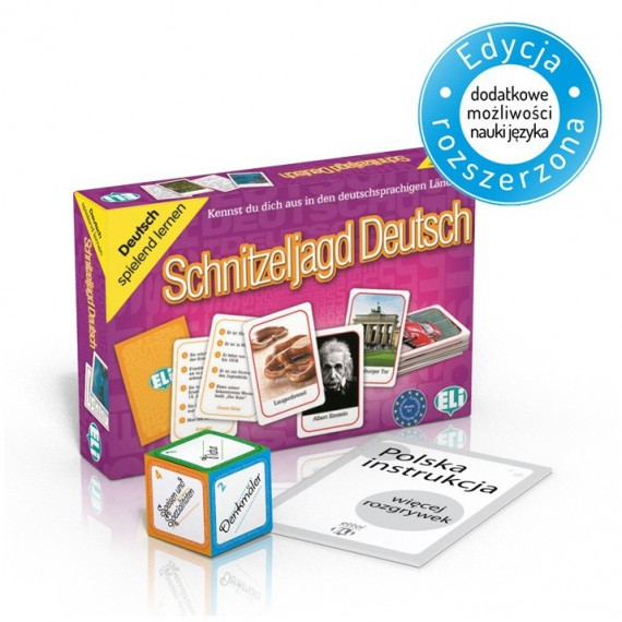 Schnitzeljagd Deutsch - gra językowa z polską instrukcją