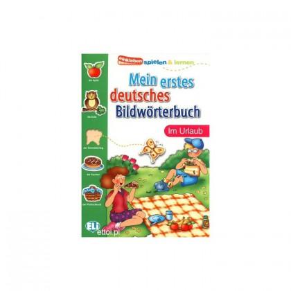 Mein erstes deutsches Bildwörterbuch - im Urlaub słownik do nauki niemieckiegp