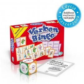 Verben-Bingo - gra językowa do nauki angielskiego