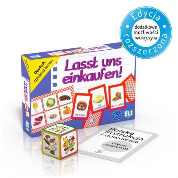 Lasst uns einkaufen! - gra językowa do nauki angielskiego