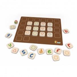 Gra memory - nauka alfabetu