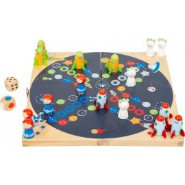 Chińczyk - gra planszowa rodzinna kosmos
