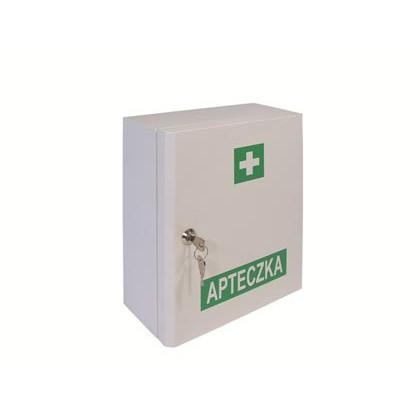 Apteczka w metalowej szafce - DIN 13164 plus