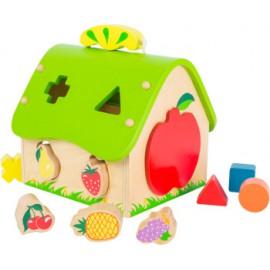Sorter owocowy domek