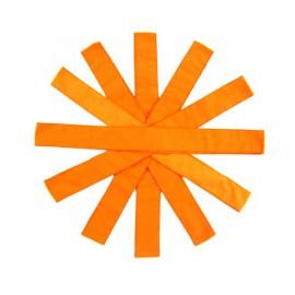 Pomarańczowe szarfy - 6szt.