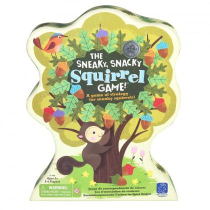 Gra podstępna wiewiórka - sortowanie kolorów
