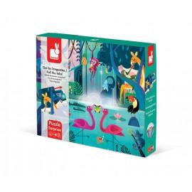 Puzzle z niespodzianką - uczta w dżungli