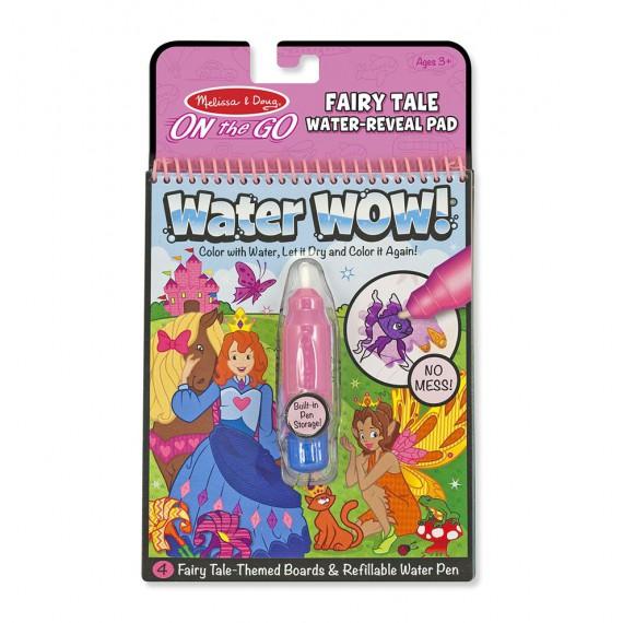 Kolorowanka wodna Water Wow - księżniczki