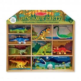 Figurki dinozaurów w skrzynce Melissa&Doug