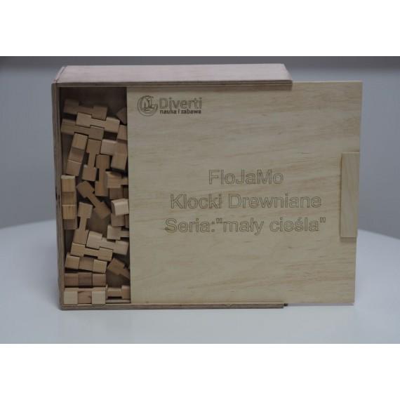 Drewniane klocki konstrukcyjne - zestaw L