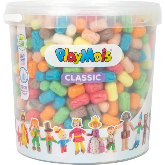 Piankolina PlayMais w wiaderku - 1000 pianek