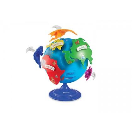 Globus dla dzieci - puzzle