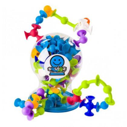Fat Brain Toys przyssawki Squigz - zestaw deluxe