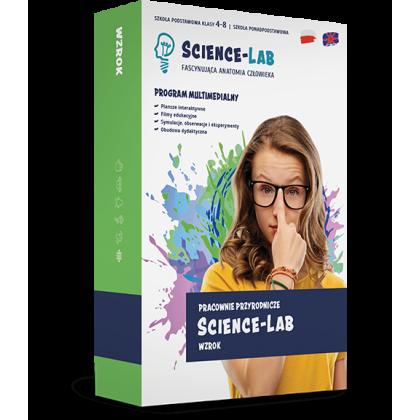 Science Lab: Zmysły – wzrok