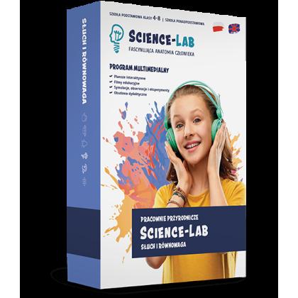 Science Lab: Zmysły – słuch i równowaga
