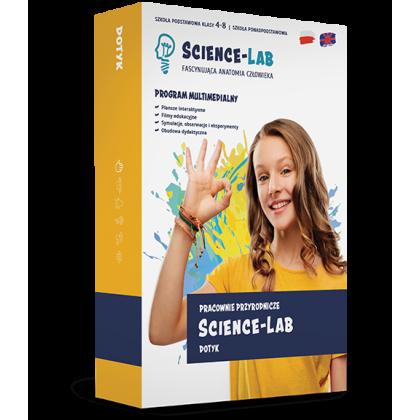 Science Lab: Zmysły – dotyk