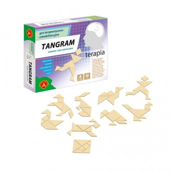 Tangram - gra drewniana