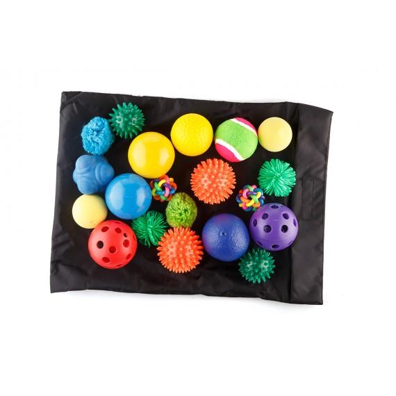 Zestaw piłeczek sensorycznych - 20 sztuk
