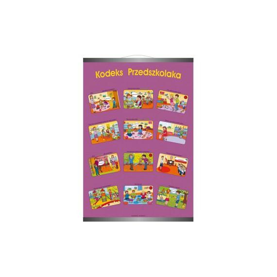 Plansza ścienna - Kodeks Przedszkolaka