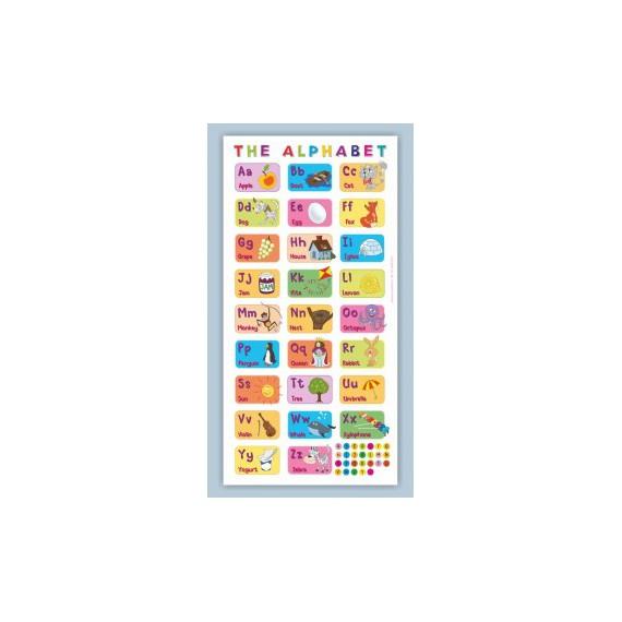 Mata edukacyjna - angielski alfabet obrazkowy