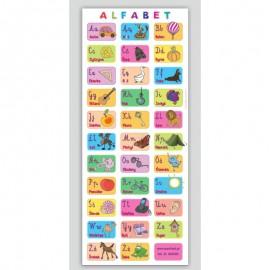 Mata edukacyjna - alfabet obrazkowy