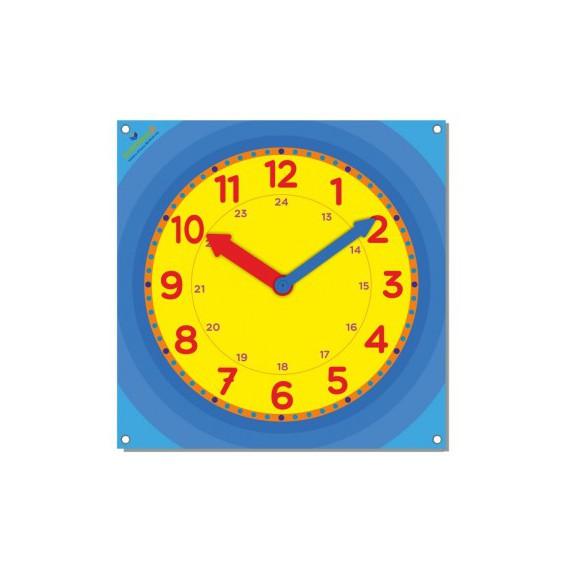 Mata edukacyjna - zegar
