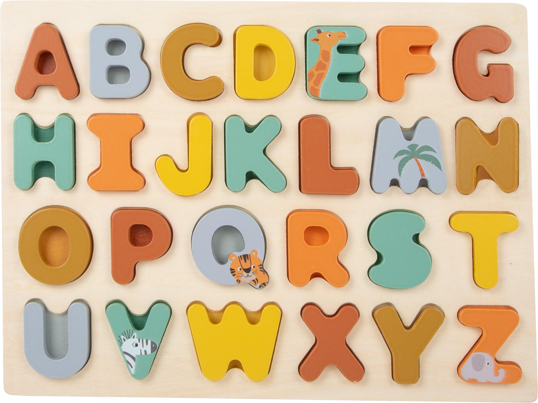 Puzzle drewniane dla dziecka